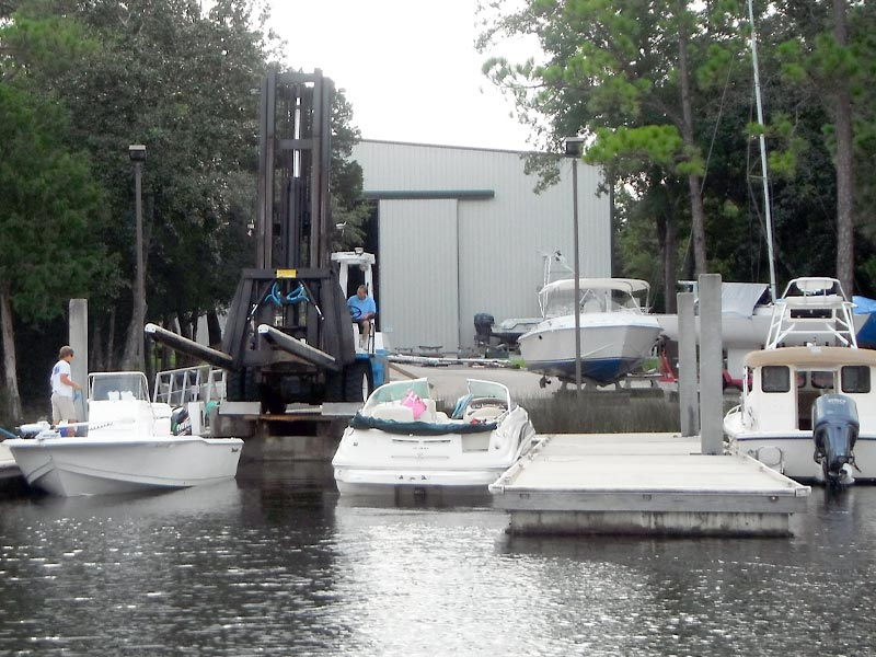 Bluewater High and Dry boat storage