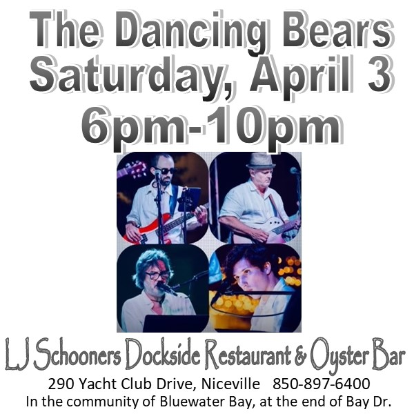 Information Square for the Dancing Bears April 3 music performance