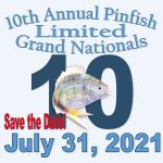 July 31, 2021 10th Annual Pinfish LIMITED Grand Nationals LOGO