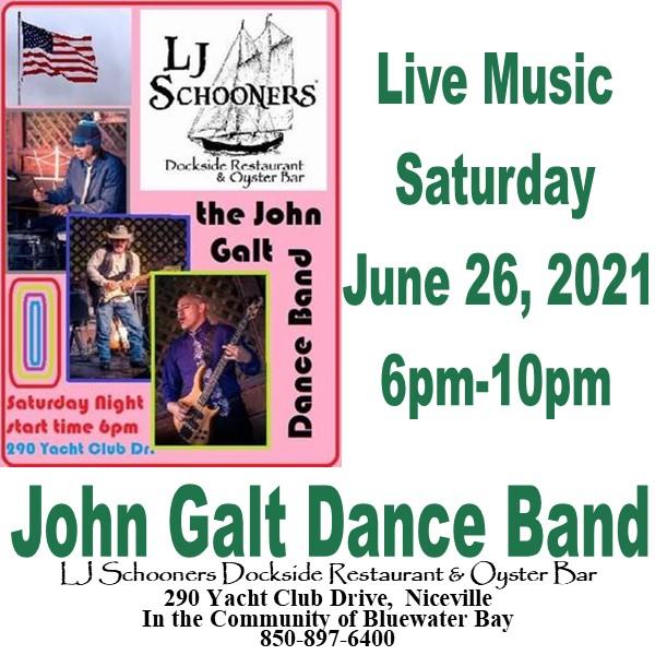 John Galt Dance Band Advertisement
