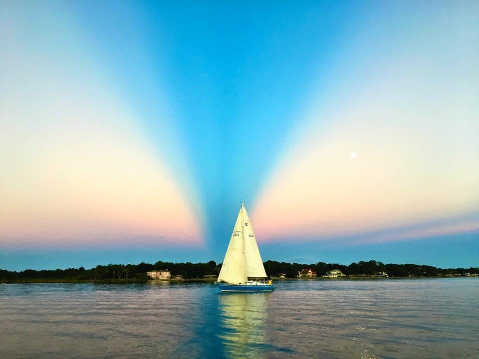 Sailboat Photo by Joel Dickey